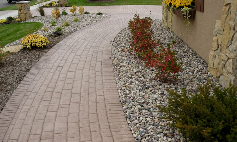 Driveways • Parking Pads • Patios: Stamped & Colored • Sidewalks •  Foundations • Swimming Pool Decks • Basement & Garage Floors • Decorative  Flatwork ... - Concrete Olson Toon Landscaping, Inc.